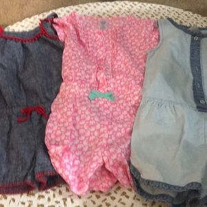 Other - 3 - 3T little girl rompers